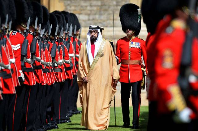 President of the UAE's official visit to the UK