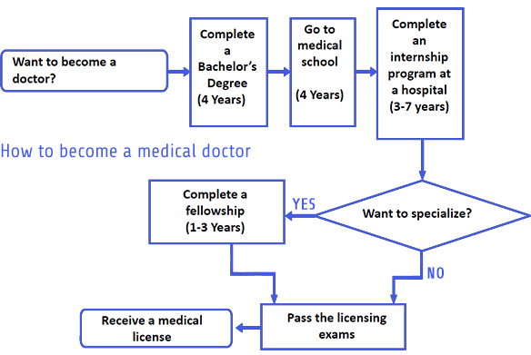 flowchart-how-to-become-a-doctor