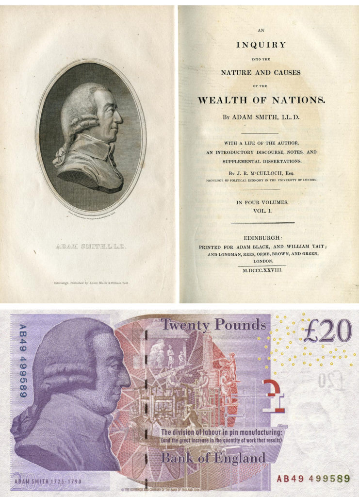 the life and works of scottish economist philosopher and author adam smith Essayist and philosopher view quotes brief author info: adam smith (1723-1790) scottish philosopher and economist and amusements of human life.