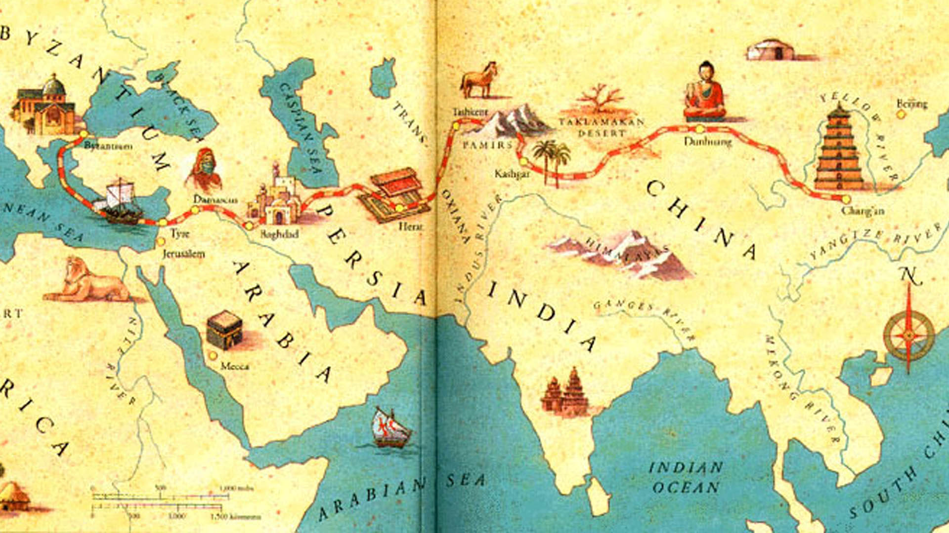 essays on the silk road The silk road essay the silk road contributed to the economic and cultural development of china to a great extent, due to the attraction of foreign trade.